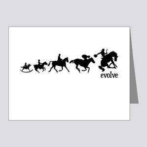 Equestrian Evolution Note Cards (Pk of 20)
