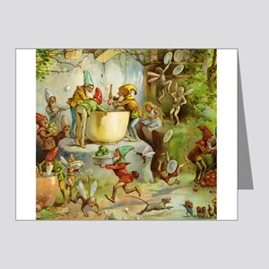 Gnomes, Elves & Forest Fairies Note Cards (Pk of 2