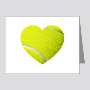 Tennis Heart Note Cards (Pk of 20)
