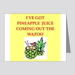 pineapple juice Note Cards (Pk of 20)