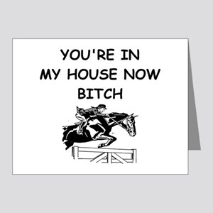 equestrian Note Cards (Pk of 20)