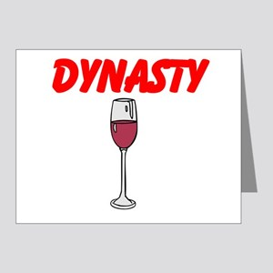 Dynasty Note Cards