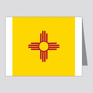 Flag of New Mexico Note Cards