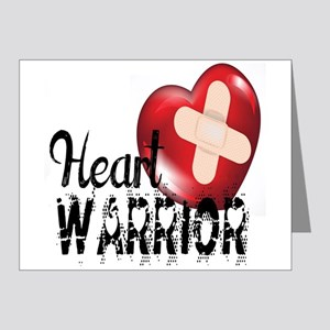 heart warrior Note Cards