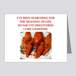 crawfish Note Cards (Pk of 20)