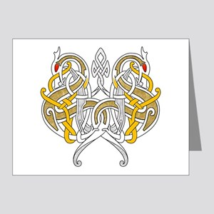 Celtic Dragons Intertwined Note Cards