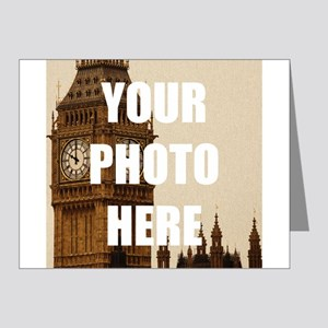 Your Photo Here Personalize It! Note Cards