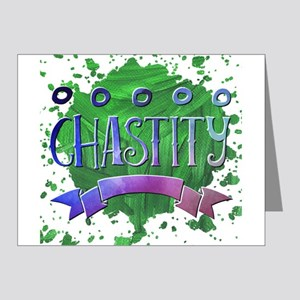 Chastity Note Cards