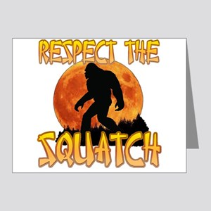 Respect the Squatch Note Cards