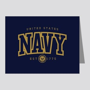 United States Navy Athletic Note Cards (Pk of 20)