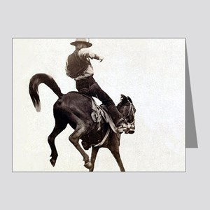Vintage Rodeo Cowboy Note Cards
