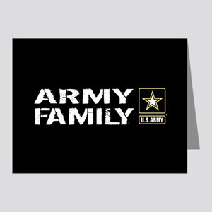 U.S. Army: Family (Black) Note Cards (Pk of 20)