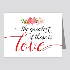 Greatest Love Note Cards