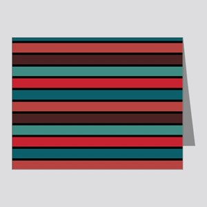 Multicolored Stripes: Ox Blo Note Cards (Pk of 20)