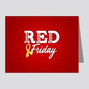 On Friday We Wear RED Note Cards (Pk of 20)