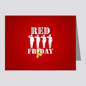 RED Friday Salute Note Cards (Pk of 20)