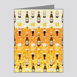 Beer Flip Flops Note Cards (Pk of 20)