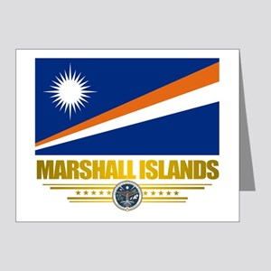Marshall Islands (Flag 10)2 Note Cards (Pk of 20)