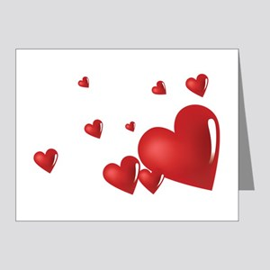 Hearts Note Cards (Pk of 20)