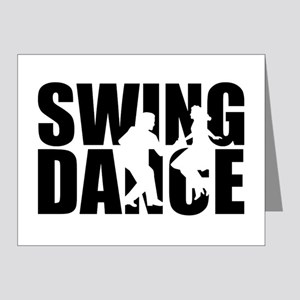 Swing dance Note Cards (Pk of 20)