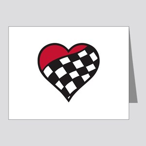 Racing Heart Note Cards