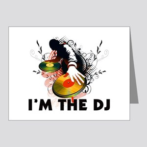 I'm The DJ Rockin The Turntables Note Cards (Pk of