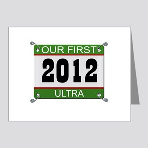 Our First Ultra (Bib) - 2012 Note Cards (Pk of 20)