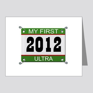 My First Ultra (Bib) - 2012 Note Cards (Pk of 20)