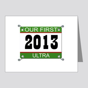 Our First Ultra Bib - 2013 Note Cards (Pk of 20)