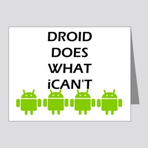 GOOD DROID Note Cards (Pk of 20)