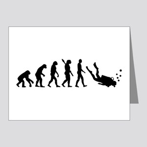 Evolution Diving Note Cards (Pk of 20)