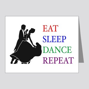 Eat Sleep Dance Note Cards (Pk of 20)