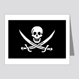 Calico Jack Pirate Note Cards (Pk of 20)
