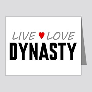 Live Love Dynasty Note Cards (20 pack)