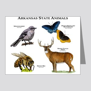 Arkansas State Animals Note Cards (Pk of 20)