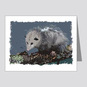 Opossum on a Gnarley Branch Note Cards (Pk of 20)