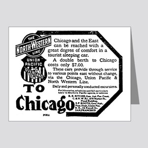 03/25/1909 - Union Pacific Note Cards (Pk of 20)
