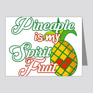 Pineapple Is My Spirit Fruit - Funny Sa Note Cards