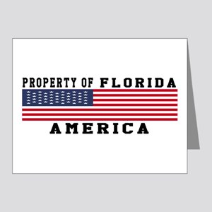 Property of Florida Note Cards (Pk of 20)