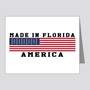 Made In Florida Note Cards (Pk of 20)
