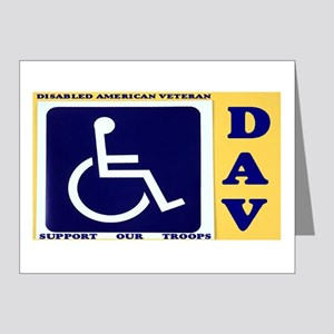 Disabled Vets Note Cards (Pk of 20)