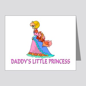 Daddy's Little Princess Note Cards (Pk of 20)