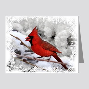 christmascardinal Note Cards (Pk of 20)