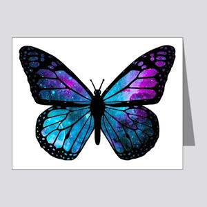 Galactic Butterfly Note Cards