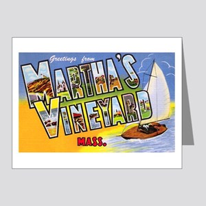 Martha's Vineyard Cape Cod Note Cards (Pk of 20)