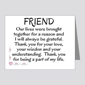 FRIEND - Note Cards (Pk of 20)