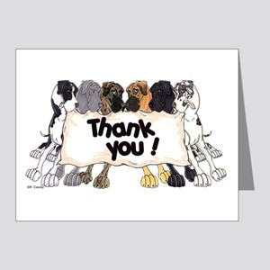 N6 Thank You Note Cards (Pk of 20)