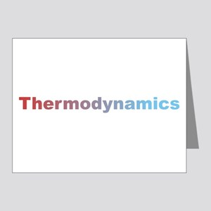 Thermodynamics Note Cards (Pk of 20)