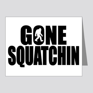 Gone Squatchin - Brute Note Cards (Pk of 20)