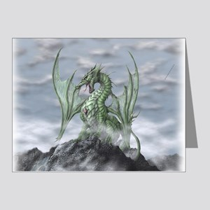 MistyAllOverBACK Note Cards (Pk of 20)